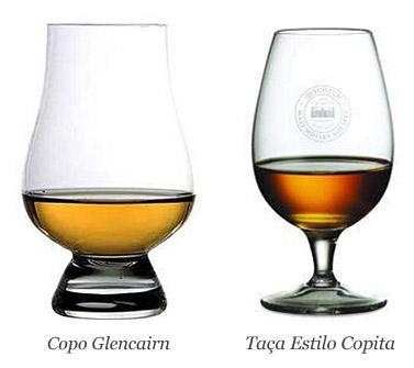 Copo Glencairn e Taça Estilo Copita