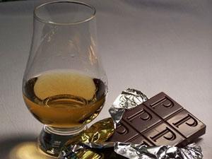 Whisky e chocolate