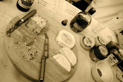 Whisky e queijos