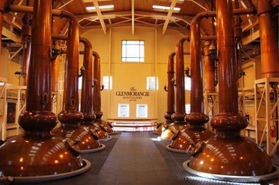 Destiladores da Glenmorangie – Produzem um destilado mais leve e puro