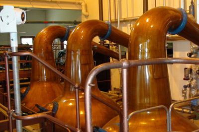 Destiladores da Macallan – Produzem um destilado mais pesado e encorpado