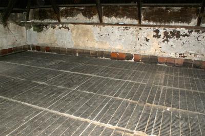 Sala de secagem da cevada na Laphroaig