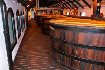 Washbacks – Destilaria Bowmore