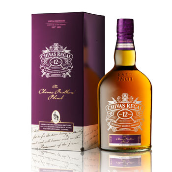 Novo Chivas Regal 12 anos
